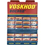 Voskhod, 100 Double Edge Safety Razor Blades, 100 Count