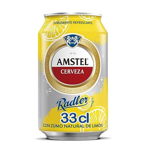 Amstel Radler - Limón Lata 33 cl (1 unidad)