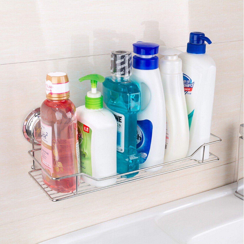 Amazon.com: Gaoyu Suction Cup Wall Mounted Bathroom Kitchen Toilet ...