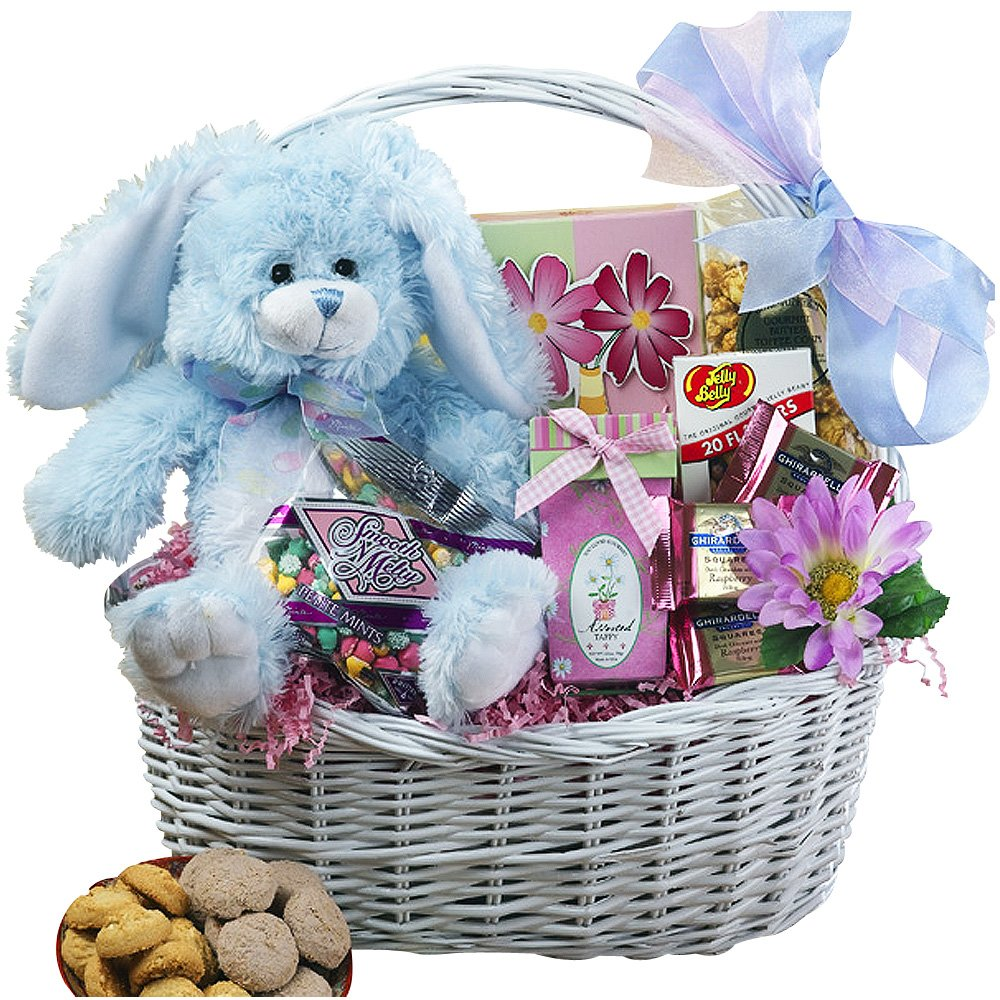 Amazon my special bunny easter gift basket with pink plush amazon my special bunny easter gift basket with pink plush bunny rabbit gourmet candy gifts grocery gourmet food negle
