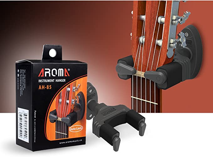 Fame Gitarrenwandhalter Auto Lock
