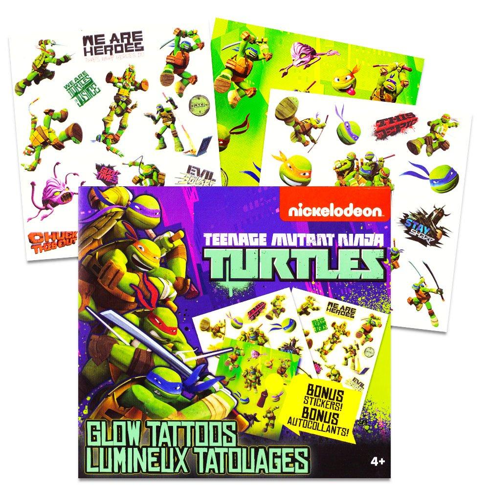 Buy Tmnt Teenage Mutant Ninja Turtles Glow In The Dark Temporary