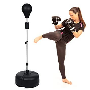 amazon com kemanner free standing boxing punching bag speed