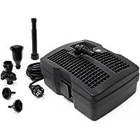 SunSun CUF-6000 3 en 1, Filtro & Bomba para Fuentes 4500l 54W & clarificador-UV 9W