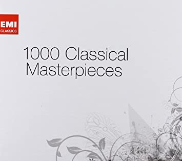 e62a087504 1000 Classical Masterpieces: Amazon.co.uk: Music
