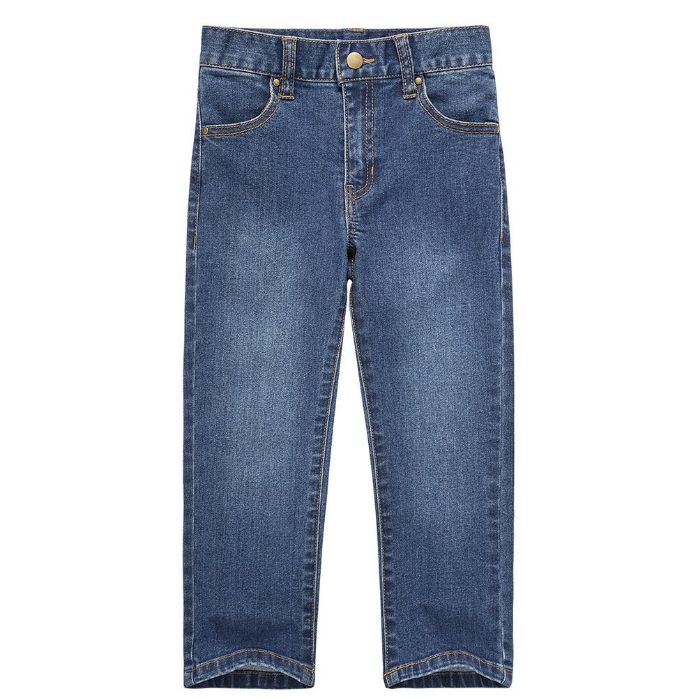 UNACOO Girls Jeans with Stretch Straight Leg and Pockets