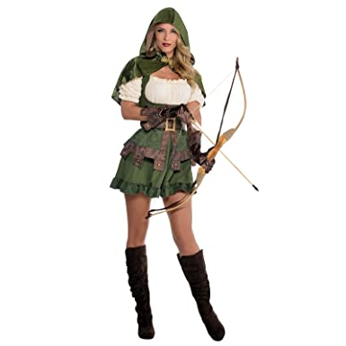 Ladies robin hood costume medieval vigilante elf elven archer maid uk 8 10 ladies robin hood costume medieval vigilante elf elven archer maid marion solutioingenieria