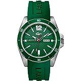 Lacoste Herren-Armbanduhr Analog Quarz Silikon 2010800