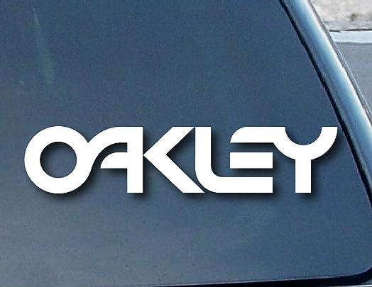 Bumper Sticker Decals Oakley Sunglasses Car Window Vinyl Decal - Car window stickers amazon uk