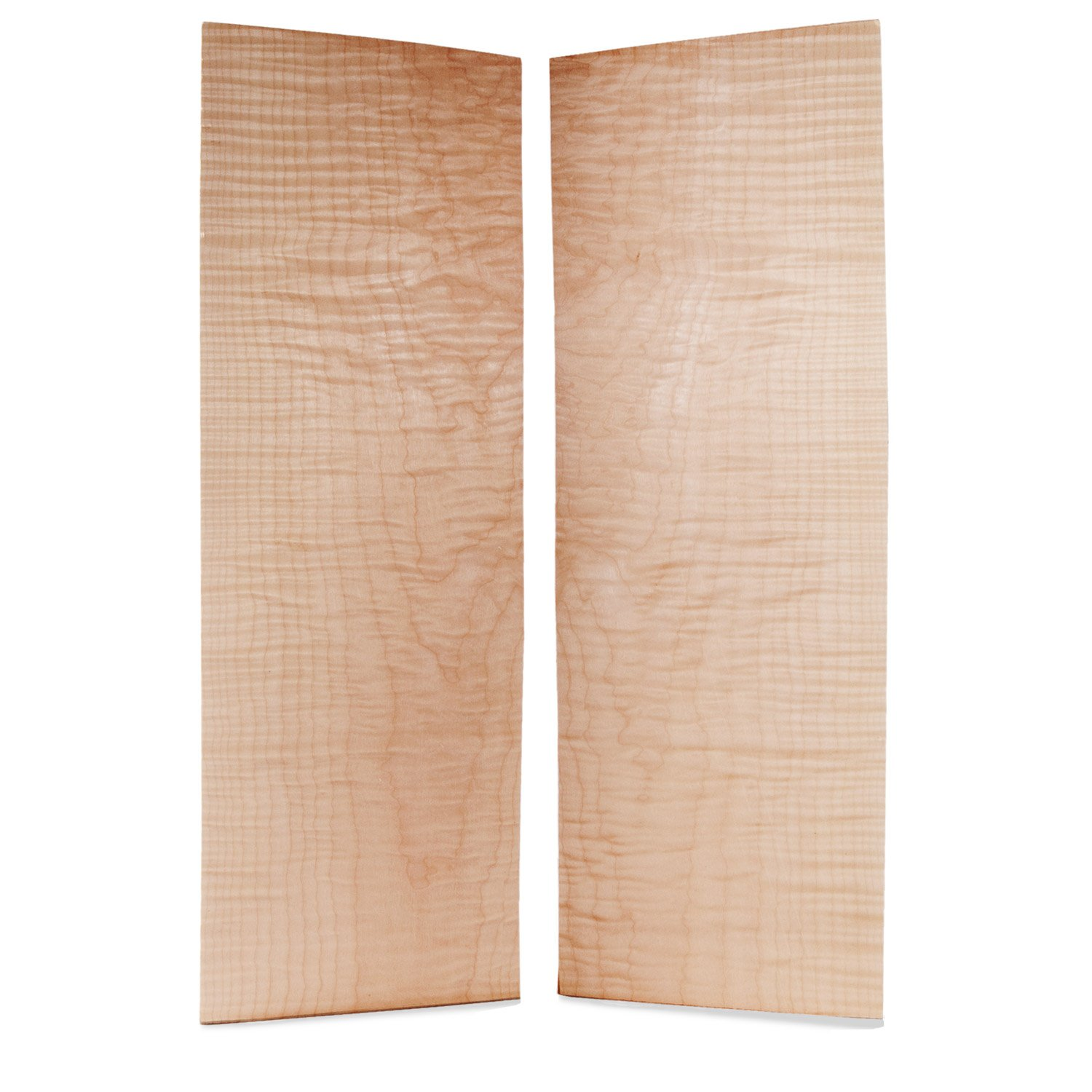 StewMac Curly Maple Top Wood for Flat Solidbody Guitars, AAAA Grade