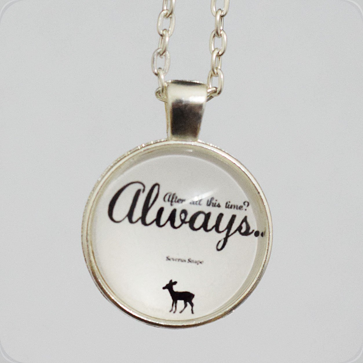 After All This Time. Always. Necklace XIAONA