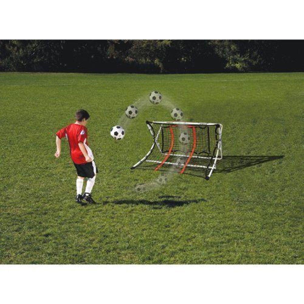 Soccer Trainer Rebound Net Ramp Football Fold Equipment Goal Shoot Training NEW
