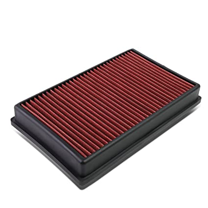 Amazon.com: For A3 / TT/GTI/GOLF (TURBO MODEL) Reusable & Washable Replacement High Flow Drop-in Air Filter (Red): Automotive