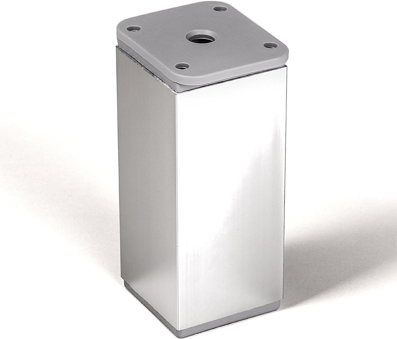 SO-TECH/® Pata de MuebleDAK Cromado Alto 120 mm Regulable