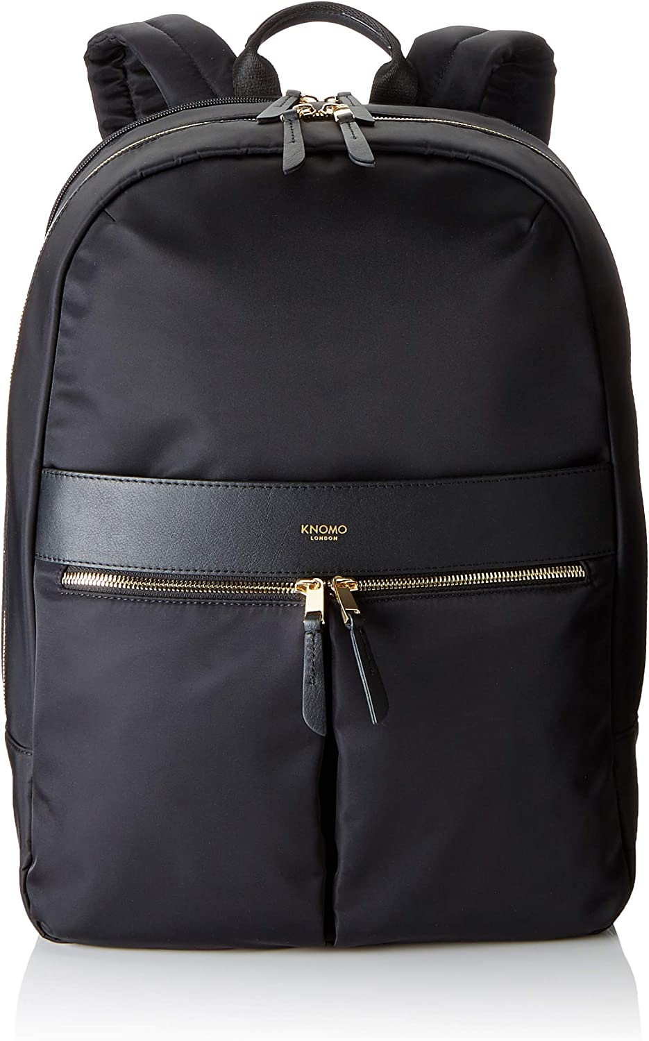 Knomo Luggage Women's Backpack, Black, One Size