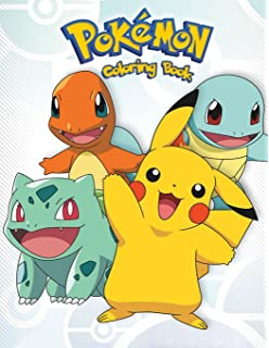 Pokemon Coloring Book For Kids And Adults Activity Great Starter