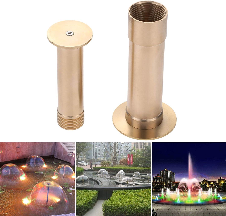 Boquilla de lat/ón para Fuente de Agua de 1//2 y 3//4 Pulgadas Hicello