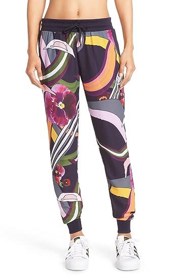 Adidas los Originals FLORAL EXPLOSION esposado los Adidas pantalones de la pista 4 Multi: Amazon 05e3b3