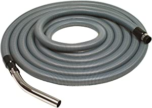 "VacuMaid 30' x 1-1/4"" diameter standard/straight suction hose"