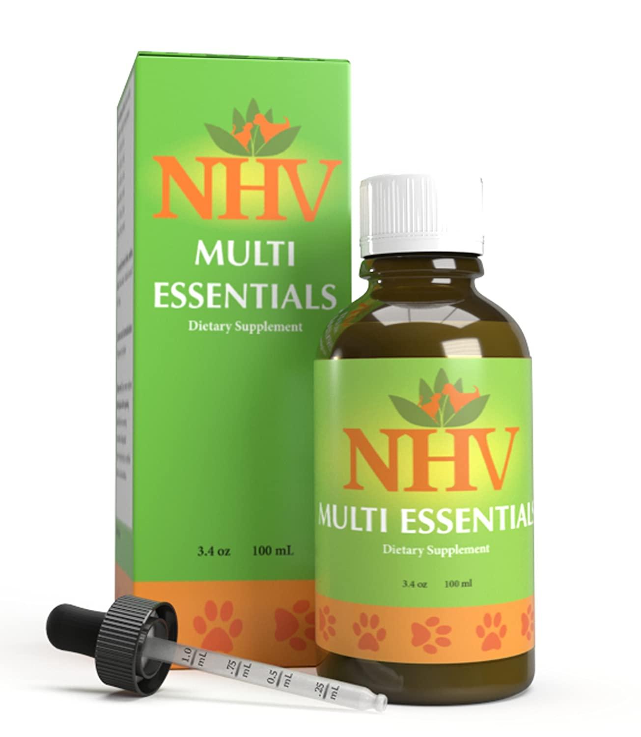 NHV Pet Multivitamin for Dogs & Cats   Natural Energy Booster Multivitamin Multi Essentials
