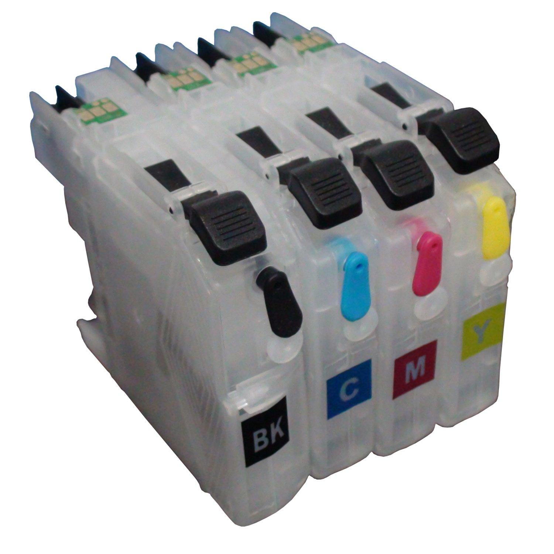 CEYE for Brother MFC-J985DW J985DWXL J5920DW Refillable Ink Cartridge LC20E Empty