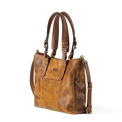 aa10c02bbb Ellington Handbags Aubrey Tote - With Crossbody Strap Whiskey  Handbags   Amazon.com