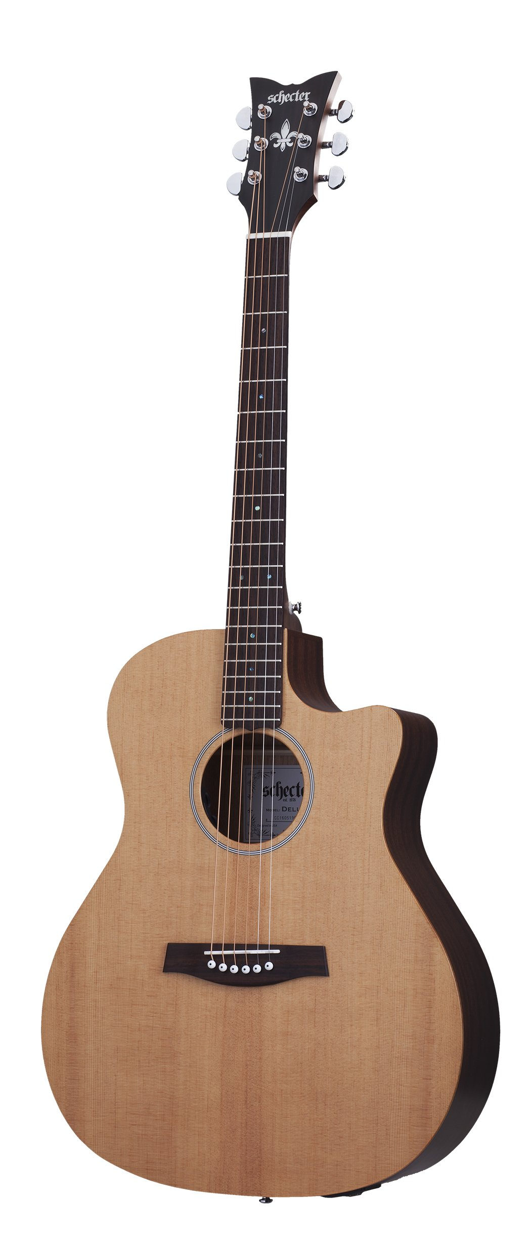 Schecter 3715 Acoustic Guitar, Natural Satin by Schecter