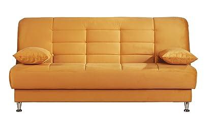 ISTIKBAL Multifunctional Sofa Sleeper VEGAS Collection (ORANGE)