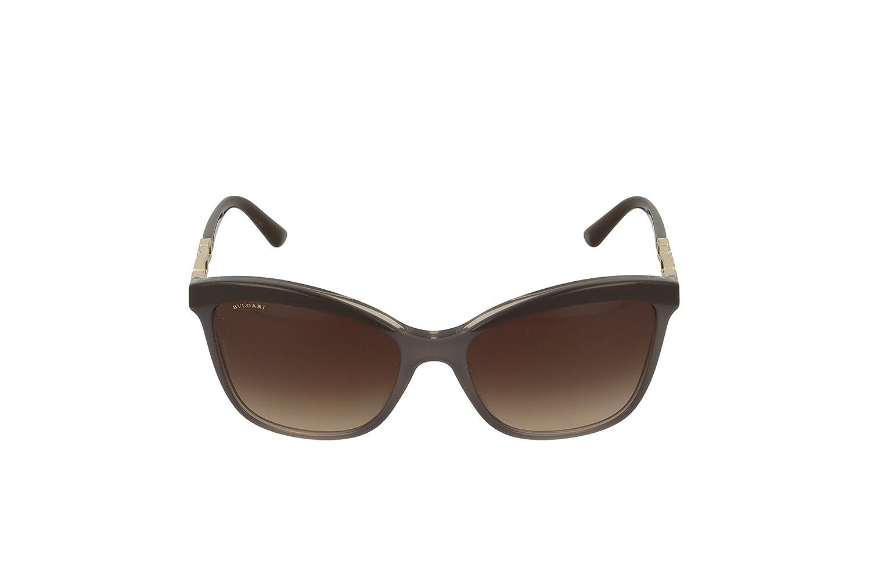 BVLGARI Damen Sonnenbrille 0BV8163B 504/T5, Braun (Sand Havana/Havana/Polarbrowngradient), 56
