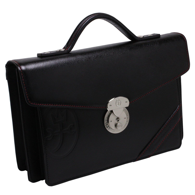 [カステルバジャック] CASTELBAJAC メンズセカンドバッグ(ドロワット)071203 B005Z9TXI6ブラック