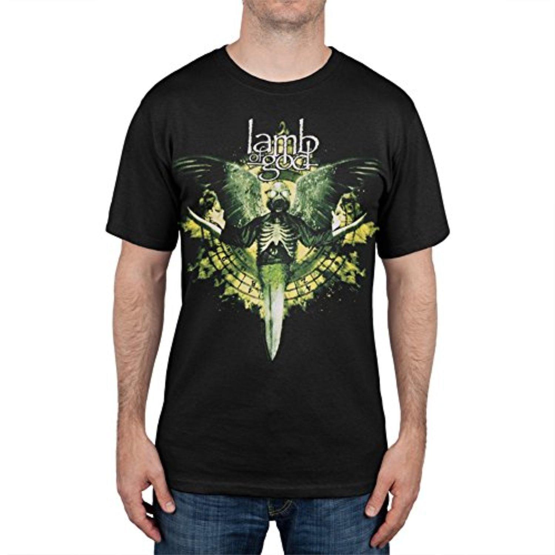 OLDYILI Lamb Of God - Toxic Angel T-Shirt