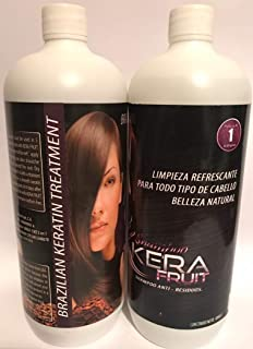 Amazon.com : Brazilian keratin Chocolate fruit 1Litro ...