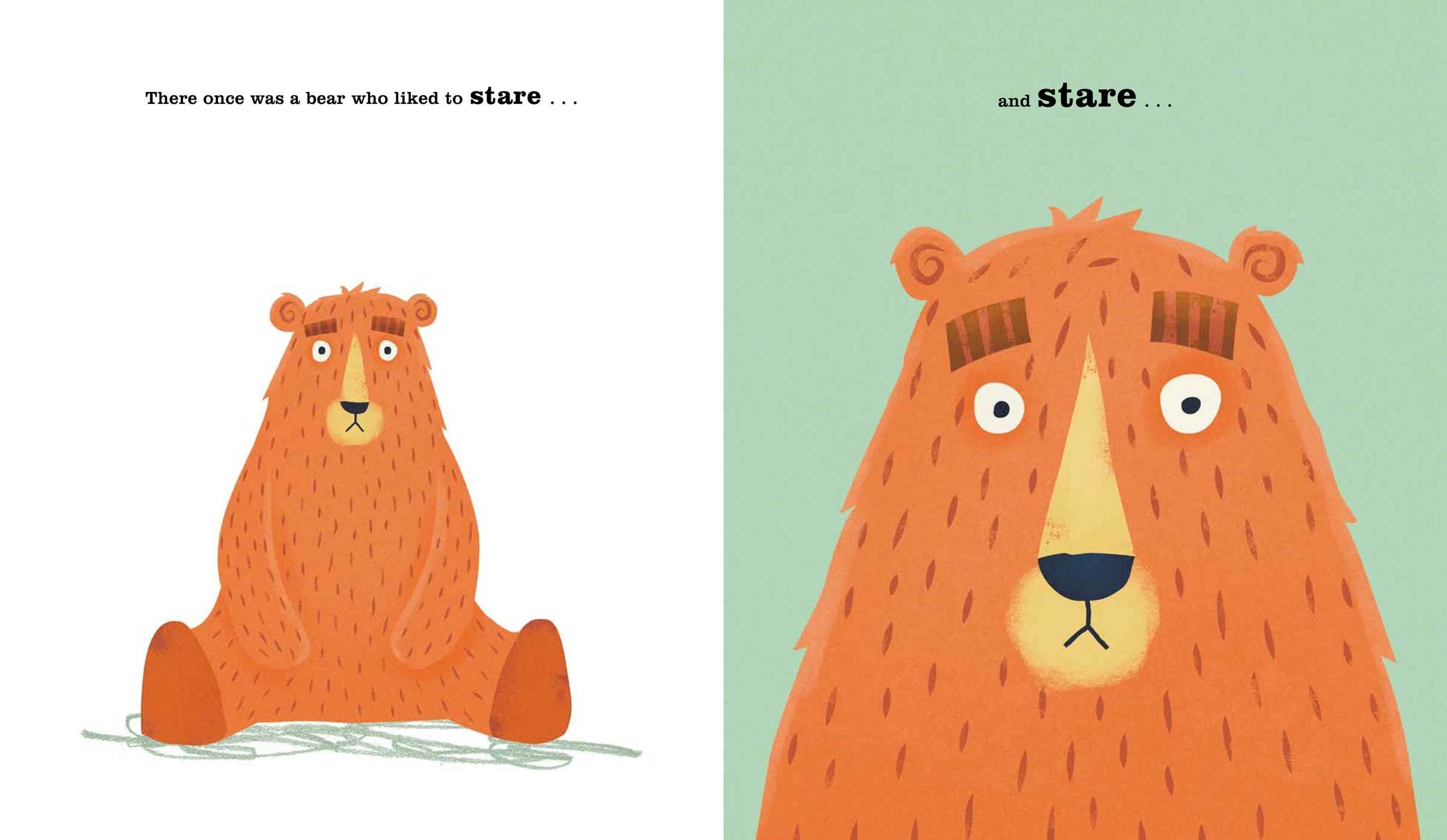 Image result for the bear who stared