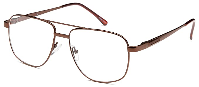 mens large awesome prescription glasses frames rxable in brown