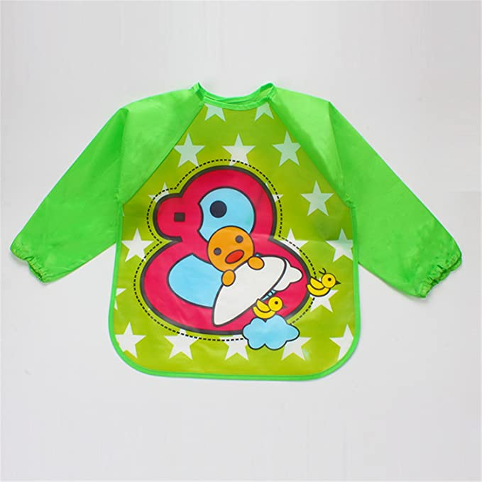 9755fe2f43dcb Lovely Drool Bibs Baby Bibs Waterproof Baby Smock Feeding Bib Feeding  Clothes #15 Gift Sets Baby