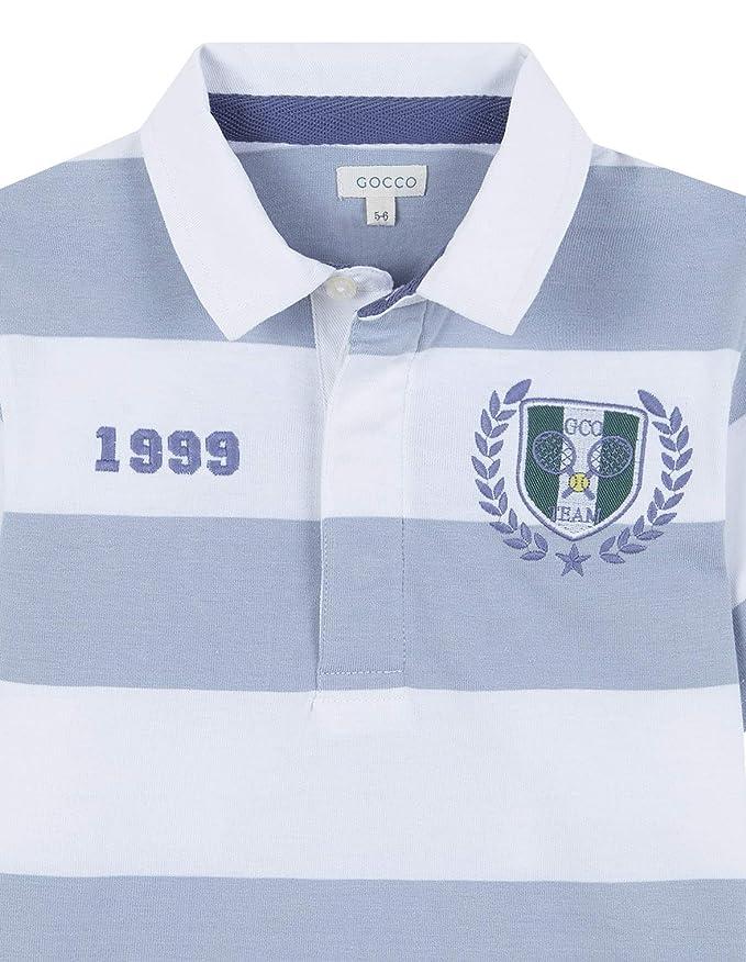 Gocco Polo Manga Corta (Azul AC), 140 (Tamaño del Fabricante:9-10 ...