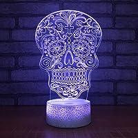 lampe tête de mort mexicaine 2