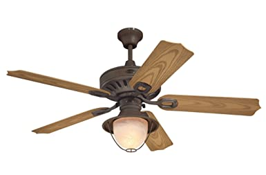 Westinghouse 7877865 Lafayette 52 Inch Ceiling Fan, Weathered Iron Finish