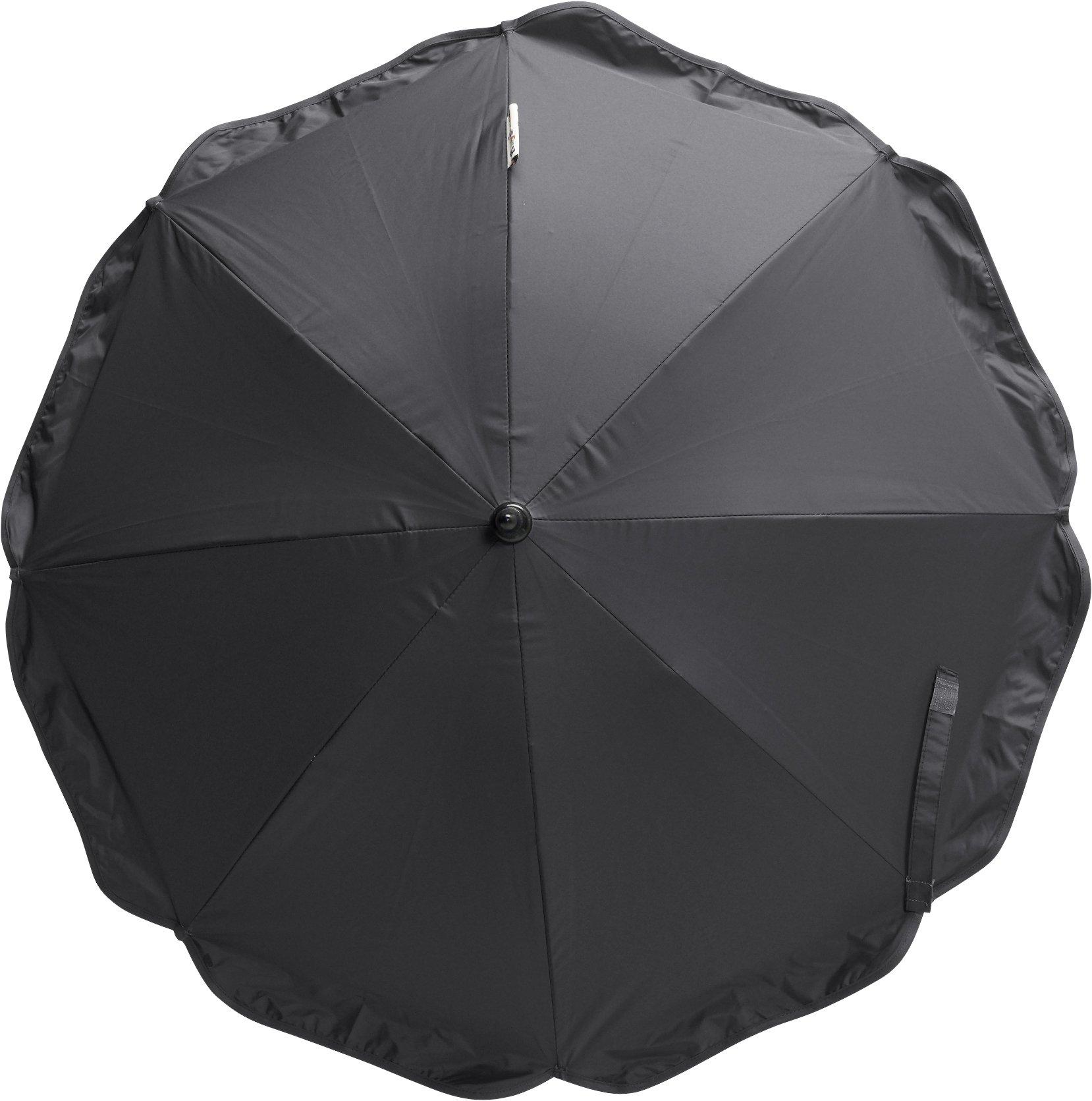 Playshoes Universal Stroller Parasole Sun Umbrella (Black)