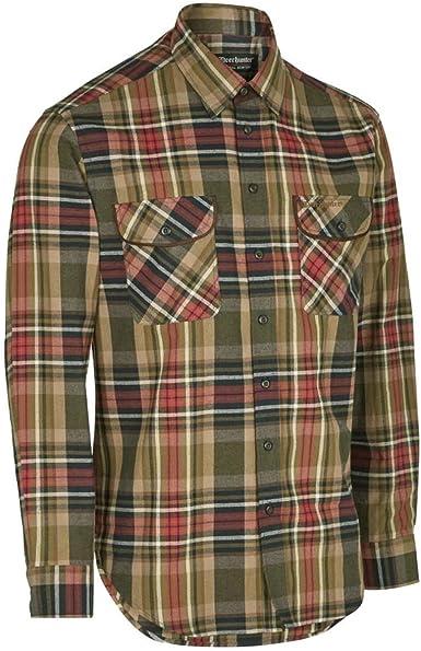 Deerhunter GABRIEL Camisa Con Ante DETALLES - Rojo, 41/42 ...