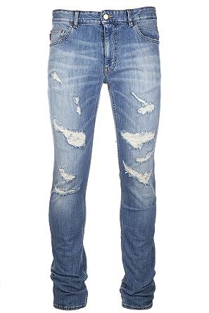 ca7e6e3b66b Love Moschino Men's Jeans Denim blu at Amazon Men's Clothing store: