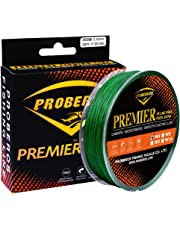 Proberos Braided Fishing Line 4/8/9 Strands Weaves PE Superbraid Multifilament Braid Superline Abrasion Resistant Wire 328/547/1094Yard 300/500/1000M