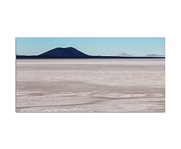 120 X 80 Cm Décoration Murale Bolivie Paysage Montagnes Sable