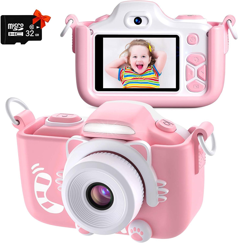 Sofortdruck Spielzeugkamera  Kinder druckbare Kamera Reisespielkamera Rosa