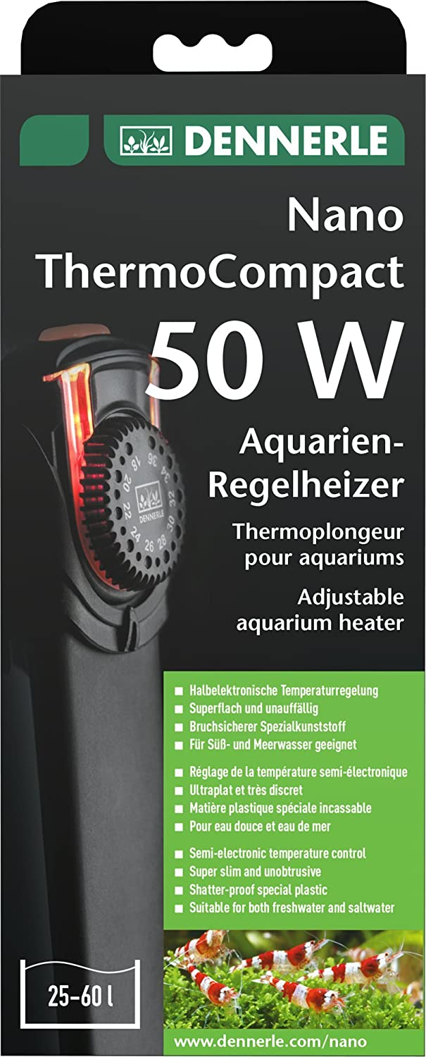 Finest Dennerle Nano Thermo Compact Aquarium Heater W Amazoncouk Pet  Supplies With Dennerle De