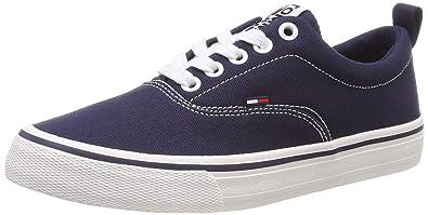 9be5e74e4cfe5d Tommy Jeans Hilfiger Denim Women s Wmn Classic Sneaker Low-Top