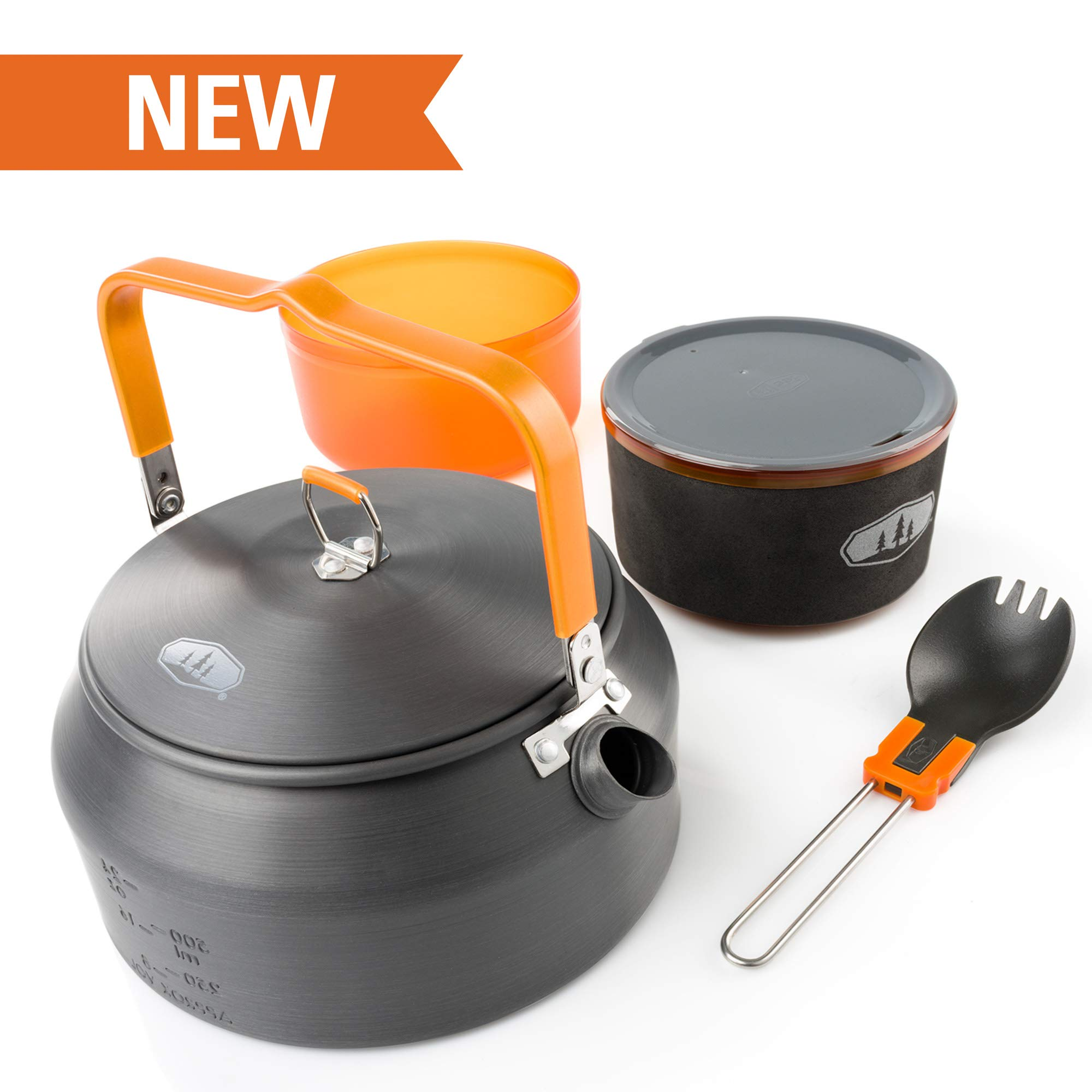 GSI Outdoors - Halulite Ketalist II Lightweight Camping Kettle Set by GSI Outdoors