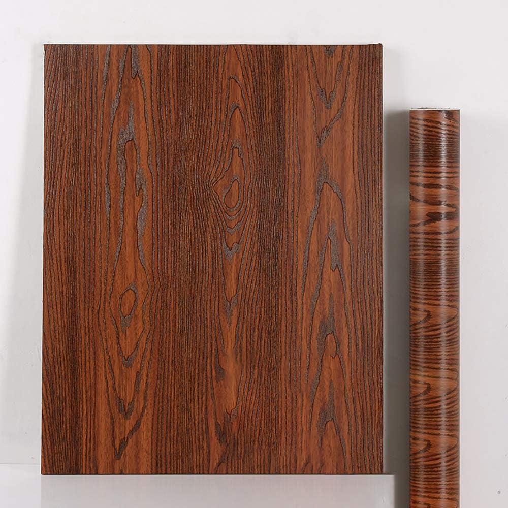 Klebefolie Holz Dekofolie M/öbelfolie Selbstklebende 40cm*2m Tapeten Folie Klebefolie f/ür M/öbel,K/üche PVC Wasserdicht Wand Aufkleber Vinyl Folie Schlafzimmer Schr/änke