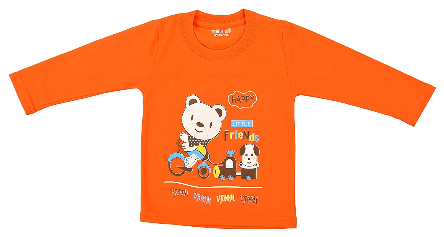 157783eaeafd Kuchipoo Boy's Cotton T-Shirt: Amazon.in: Clothing & Accessories
