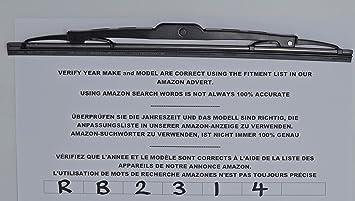 Limpiaparabrisas trasero de ajuste exacto RB2314 31 cm